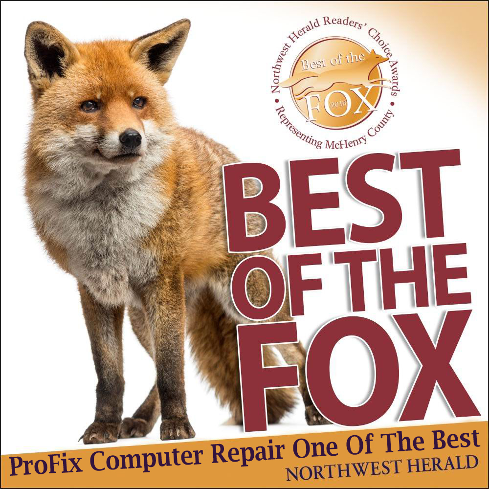 Best of the Fox for computer repair.